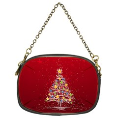 Colorful Christmas Tree Chain Purses (One Side)