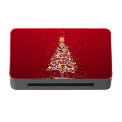 Colorful Christmas Tree Memory Card Reader with CF