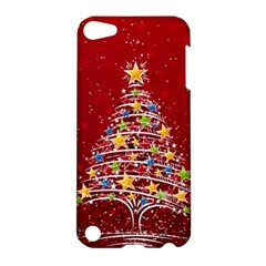 Colorful Christmas Tree Apple iPod Touch 5 Hardshell Case