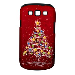 Colorful Christmas Tree Samsung Galaxy S III Classic Hardshell Case (PC+Silicone)