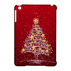 Colorful Christmas Tree Apple iPad Mini Hardshell Case (Compatible with Smart Cover)