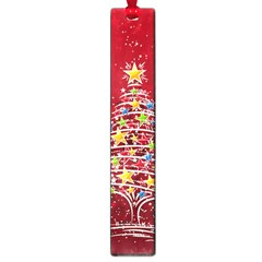 Colorful Christmas Tree Large Book Marks