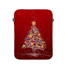 Colorful Christmas Tree Apple iPad 2/3/4 Protective Soft Cases