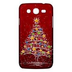 Colorful Christmas Tree Samsung Galaxy Mega 5.8 I9152 Hardshell Case
