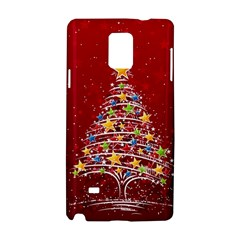 Colorful Christmas Tree Samsung Galaxy Note 4 Hardshell Case
