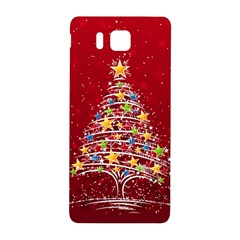 Colorful Christmas Tree Samsung Galaxy Alpha Hardshell Back Case