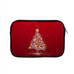 Colorful Christmas Tree Apple MacBook Pro 15  Zipper Case