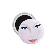 Face Beauty Woman Young Skin 1.75  Magnets