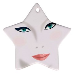 Face Beauty Woman Young Skin Ornament (Star)