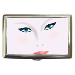 Face Beauty Woman Young Skin Cigarette Money Cases