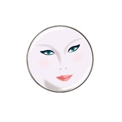 Face Beauty Woman Young Skin Hat Clip Ball Marker (10 pack)