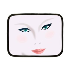 Face Beauty Woman Young Skin Netbook Case (Small)