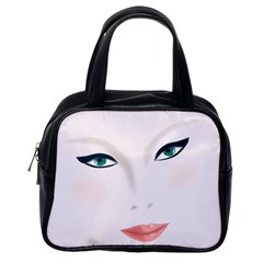 Face Beauty Woman Young Skin Classic Handbags (One Side)