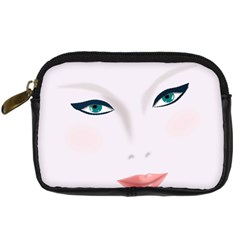 Face Beauty Woman Young Skin Digital Camera Cases