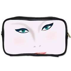 Face Beauty Woman Young Skin Toiletries Bags 2-Side