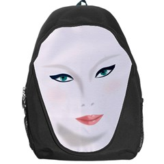 Face Beauty Woman Young Skin Backpack Bag