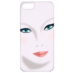 Face Beauty Woman Young Skin Apple iPhone 5 Classic Hardshell Case
