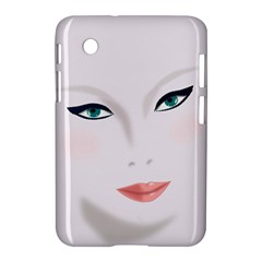 Face Beauty Woman Young Skin Samsung Galaxy Tab 2 (7 ) P3100 Hardshell Case