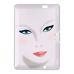 Face Beauty Woman Young Skin Kindle Fire HDX 8.9  Hardshell Case