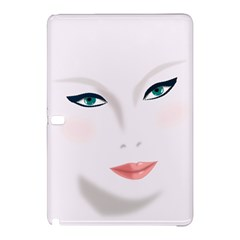 Face Beauty Woman Young Skin Samsung Galaxy Tab Pro 10.1 Hardshell Case