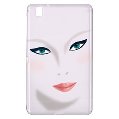 Face Beauty Woman Young Skin Samsung Galaxy Tab Pro 8.4 Hardshell Case
