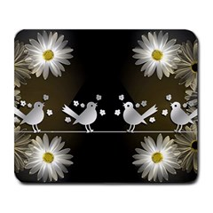 Daisy Bird Twitter News Gossip Large Mousepads