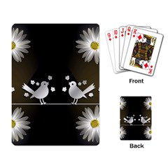 Daisy Bird Twitter News Gossip Playing Card