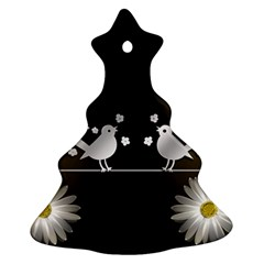 Daisy Bird Twitter News Gossip Christmas Tree Ornament (2 Sides)