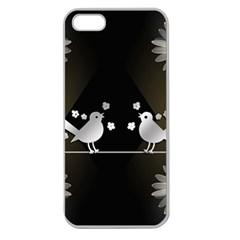 Daisy Bird Twitter News Gossip Apple Seamless iPhone 5 Case (Clear)