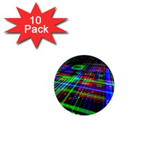 Electronics Board Computer Trace 1  Mini Magnet (10 pack)