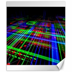 Electronics Board Computer Trace Canvas 20  x 24