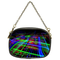 Electronics Board Computer Trace Chain Purses (One Side)