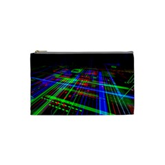 Electronics Board Computer Trace Cosmetic Bag (Small)