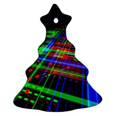 Electronics Board Computer Trace Christmas Tree Ornament (2 Sides)