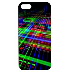 Electronics Board Computer Trace Apple iPhone 5 Hardshell Case with Stand