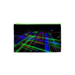 Electronics Board Computer Trace Cosmetic Bag (XS)