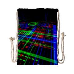 Electronics Board Computer Trace Drawstring Bag (Small)
