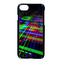 Electronics Board Computer Trace Apple iPhone 7 Seamless Case (Black)