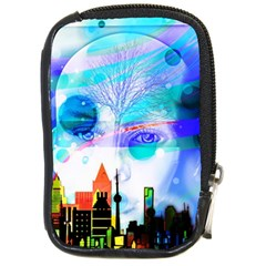 Dirty Dirt Spot Man Doll View Compact Camera Cases