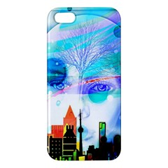 Dirty Dirt Spot Man Doll View iPhone 5S/ SE Premium Hardshell Case