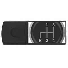 Gearshift Gear Stick Gear Engine USB Flash Drive Rectangular (4 GB)