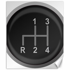 Gearshift Gear Stick Gear Engine Canvas 20  x 24