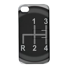 Gearshift Gear Stick Gear Engine Apple iPhone 4/4S Hardshell Case with Stand