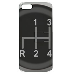 Gearshift Gear Stick Gear Engine Apple iPhone 5 Hardshell Case with Stand