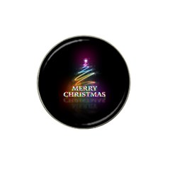 Merry Christmas Abstract Hat Clip Ball Marker (10 pack)