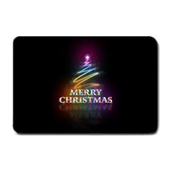 Merry Christmas Abstract Small Doormat