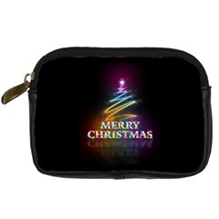 Merry Christmas Abstract Digital Camera Cases