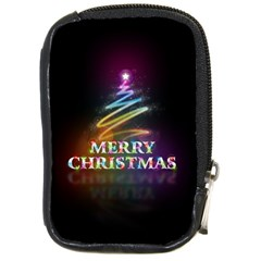 Merry Christmas Abstract Compact Camera Cases
