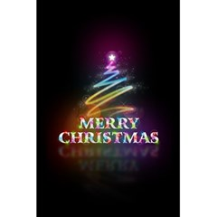Merry Christmas Abstract 5.5  x 8.5  Notebooks