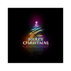 Merry Christmas Abstract Acrylic Tangram Puzzle (6  x 6 )